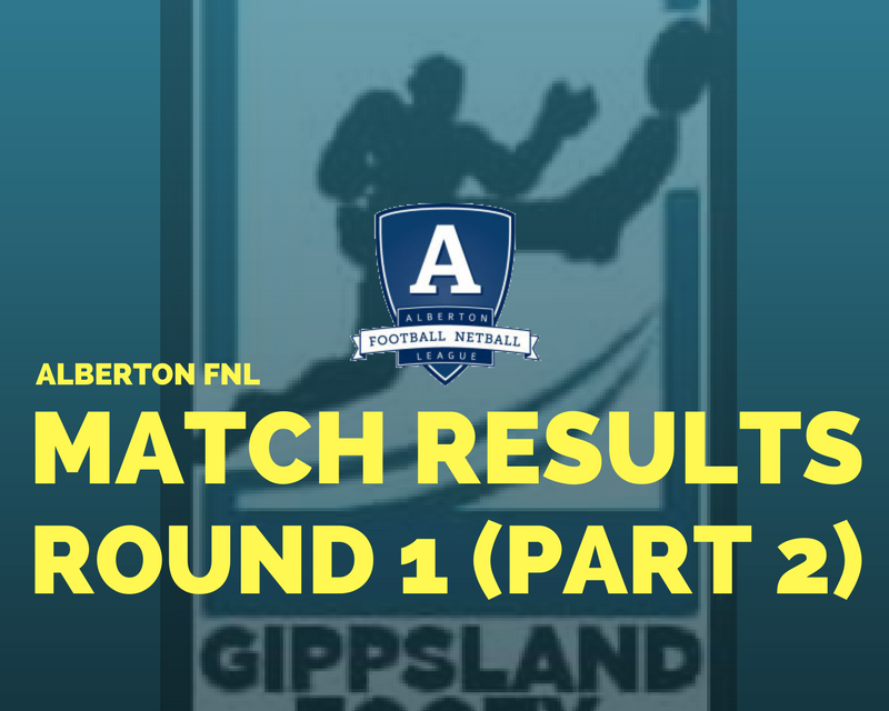Alberton FNL Round 1 (Part 2) review