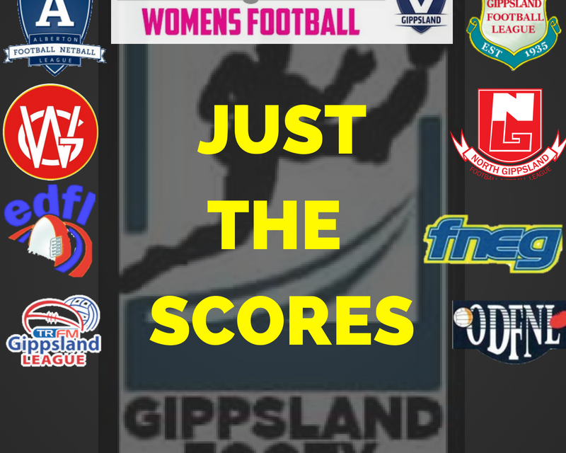 Just the scores – Sunday July 15th