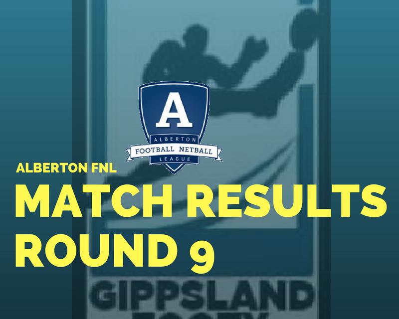 Alberton FNL Round 9 review