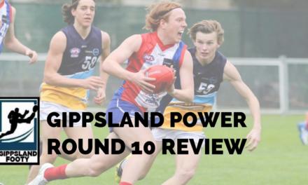 Gippsland Power Round 10 review