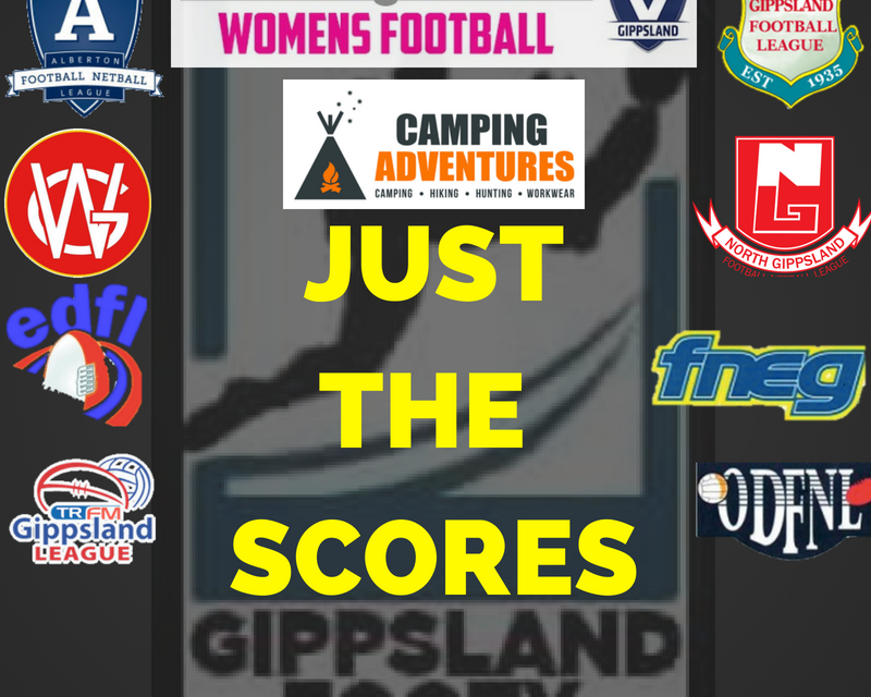 Just the scores – Saturday June 16th