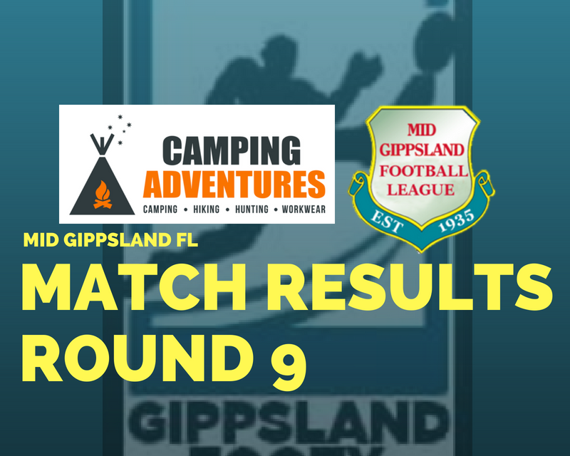 Mid Gippsland FL Round 9 review