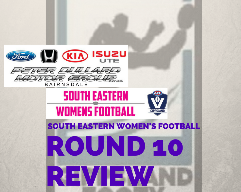 South Eastern Women's Football Round 10 review