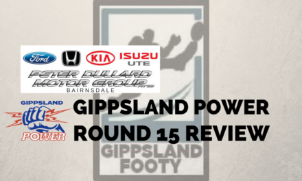 Gippsland Power Round 15 review