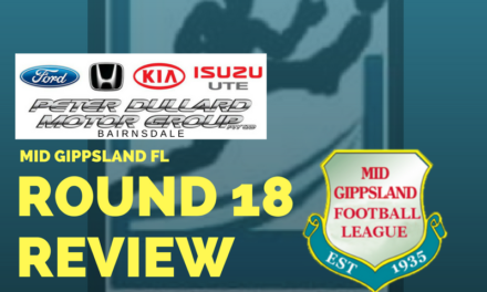 Mid Gippsland FL Round 18 review