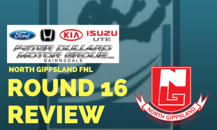 North Gippsland FNL Round 16 review