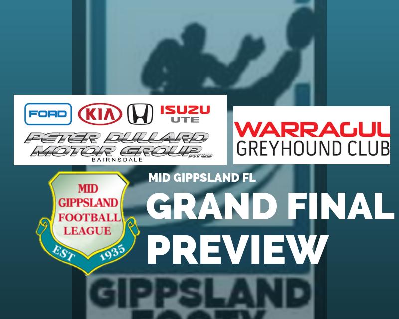 Mid Gippsland FL Grand Final preview