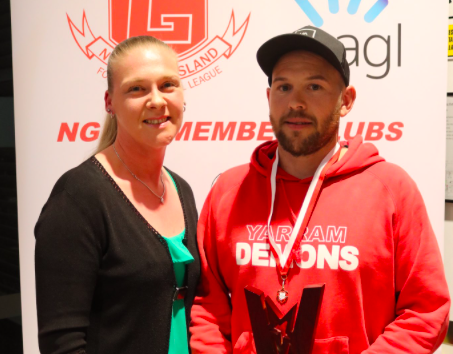 Yarram's Griffin Underwood wins NGFNL B&F, team of the year announced