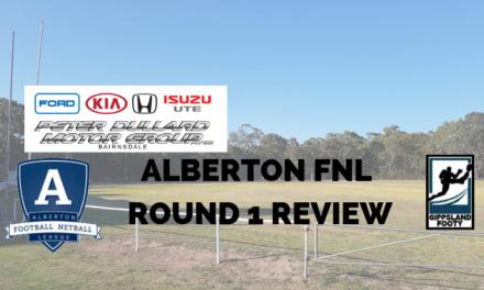 Alberton FNL Round 1 review