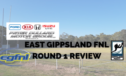 East Gippsland FNL Round 1 review