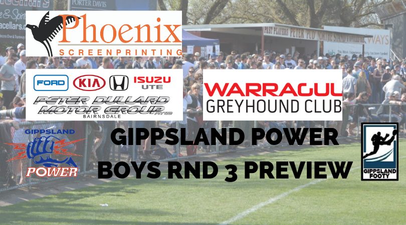 Gippsland Power boys Round 3 preview