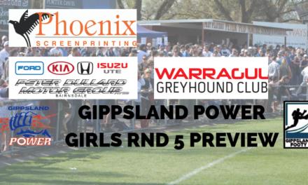 Gippsland Power girls Round 5 preview