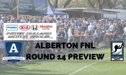 Alberton FNL Round 14 preview