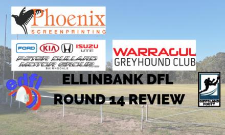 Ellinbank DFL Round 14 review