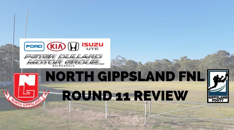 North Gippsland FNL Round 11 review