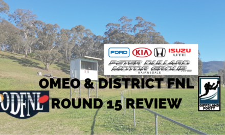 Omeo & District FNL Round 15 review