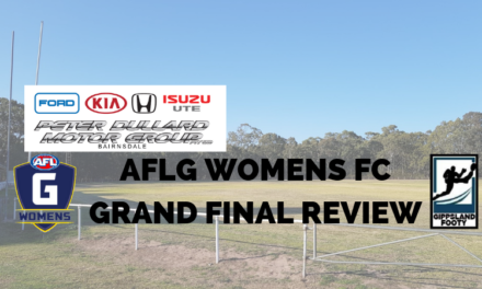 AFL Gippsland Women's Football Competition Grand Final review