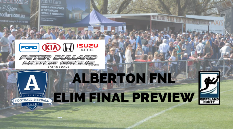 Alberton FNL Elimination Final preview