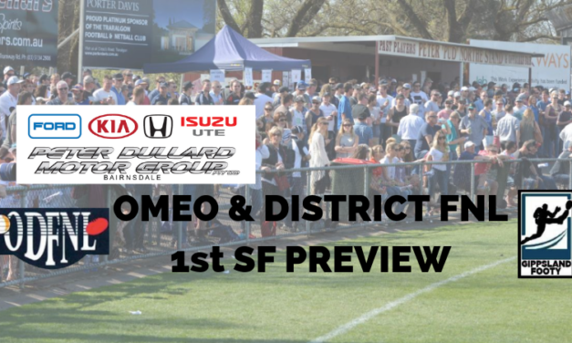 Omeo & District FNL 1st Semi Final preview