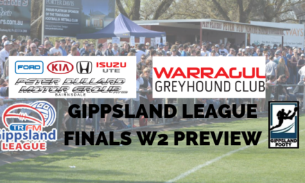Gippsland League Finals Week 2 preview
