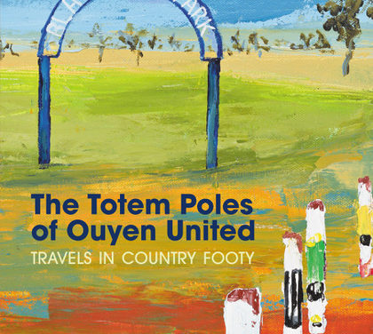 Country footy author's new book visits Gippsland