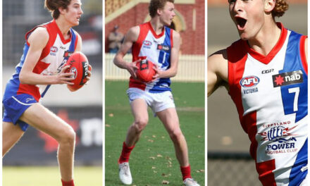 Three Gippsland Power players graduate to AFL ranks