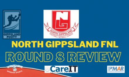 North Gippsland FNL Round 8 review
